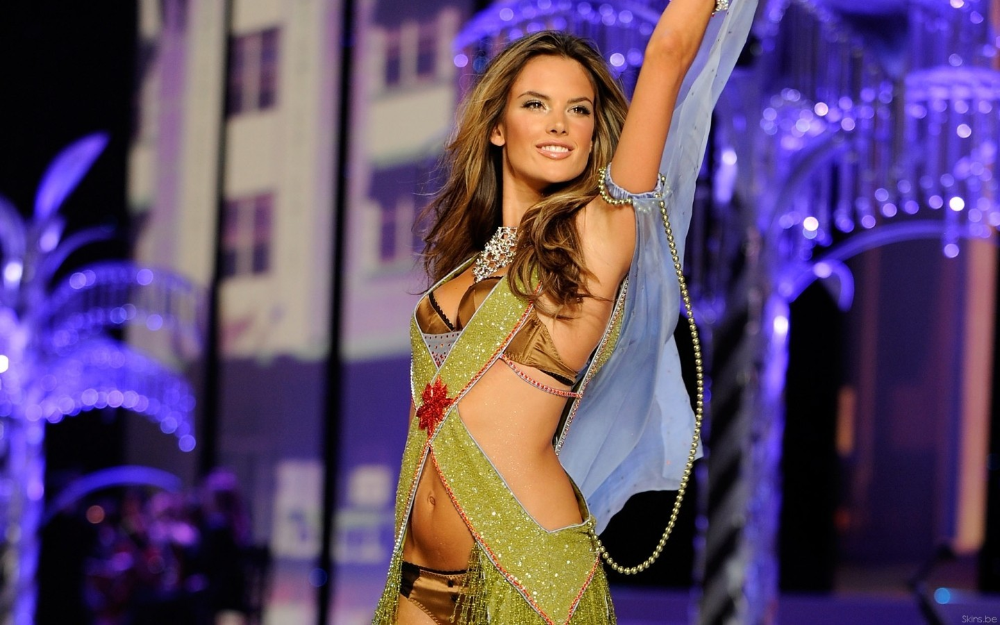 woman alessandra ambrosio supermodels HD Wallpaper