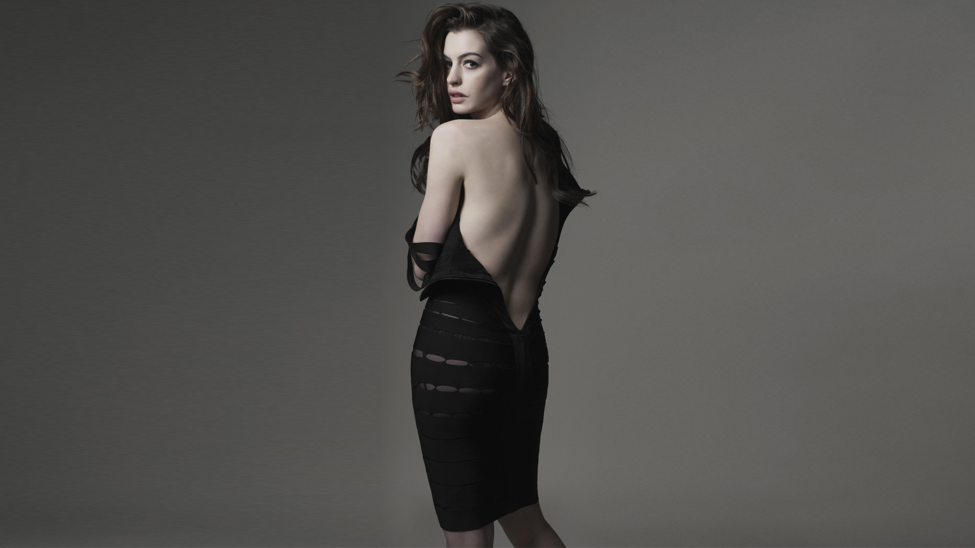 woman anne hathaway HD Wallpaper