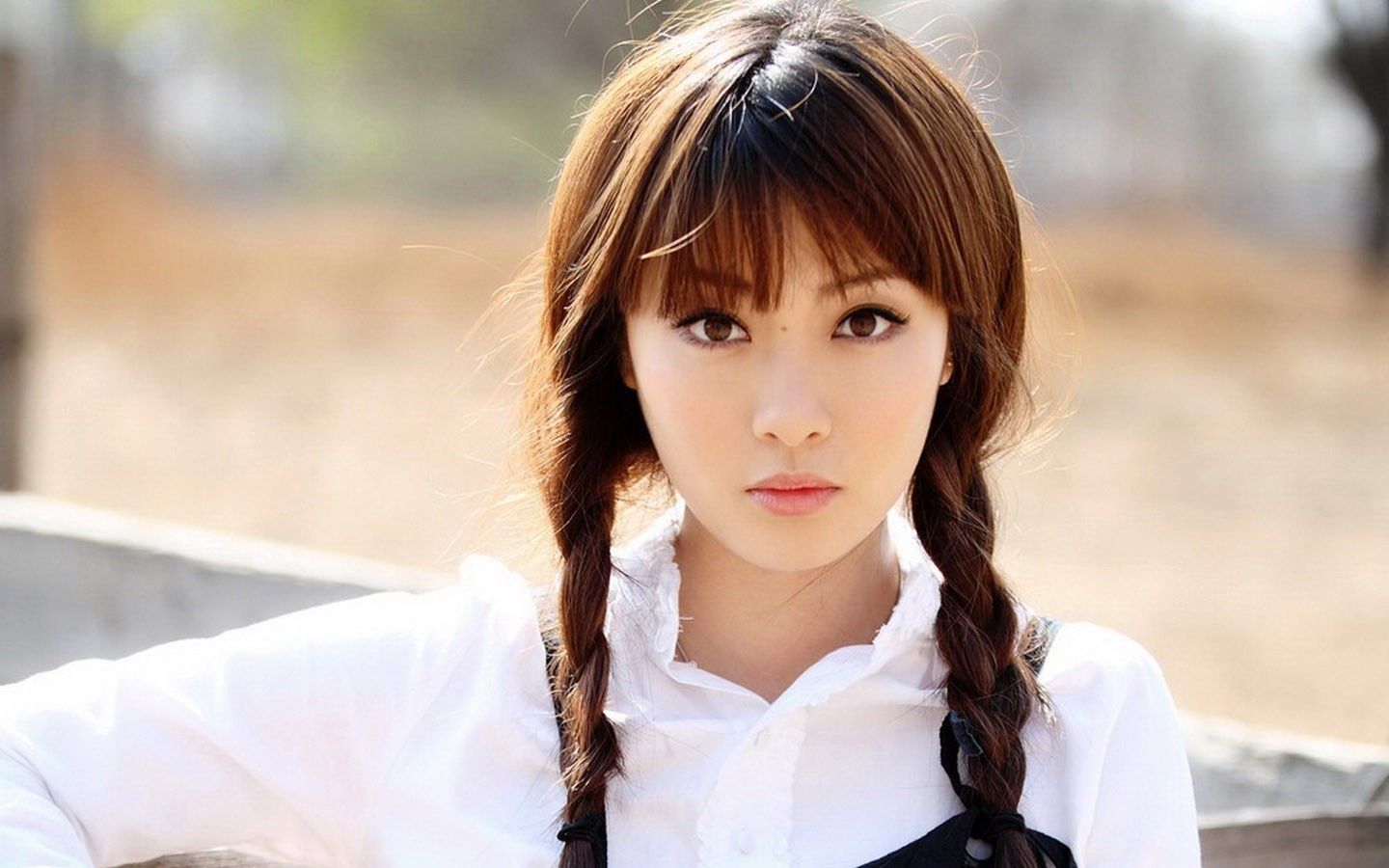 woman asians braids Zhu HD Wallpaper