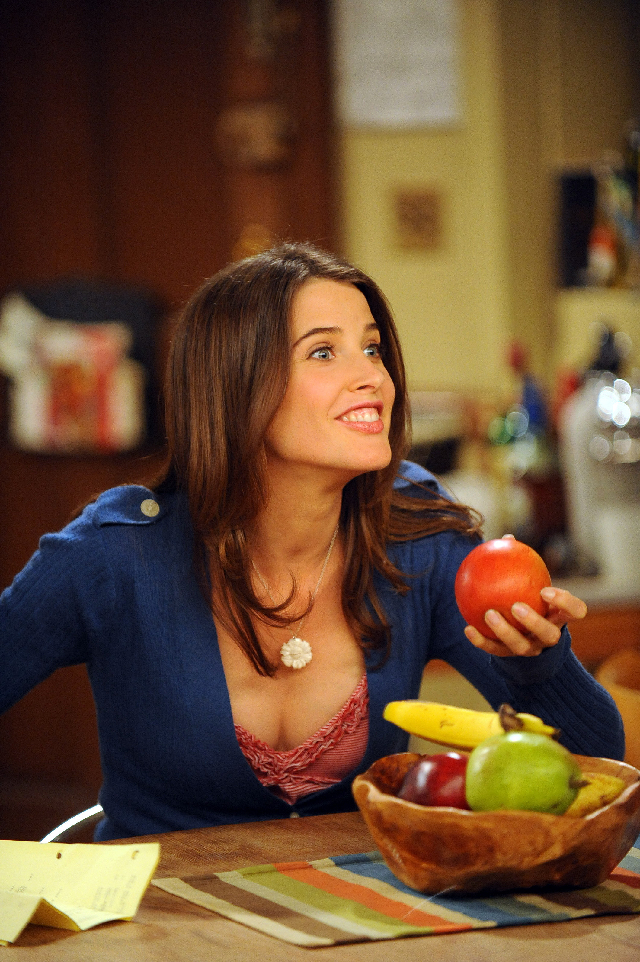 woman bananas cobie smulders HD Wallpaper