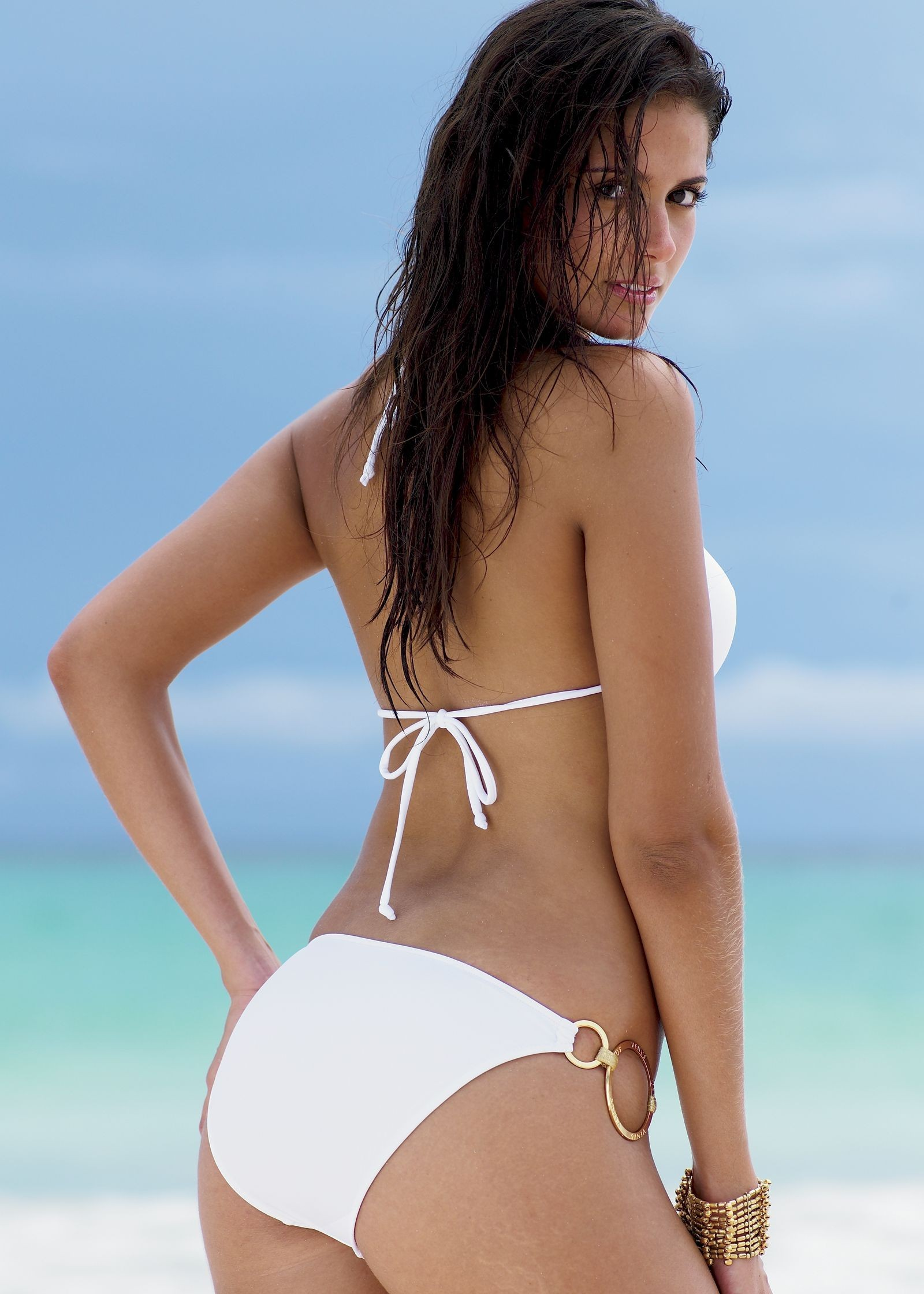 woman bikini carla ossa HD Wallpaper
