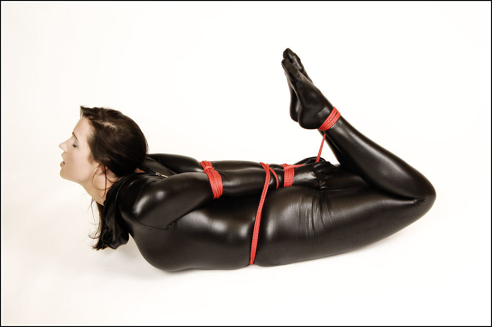 woman bondage fetish catsuits HD Wallpaper