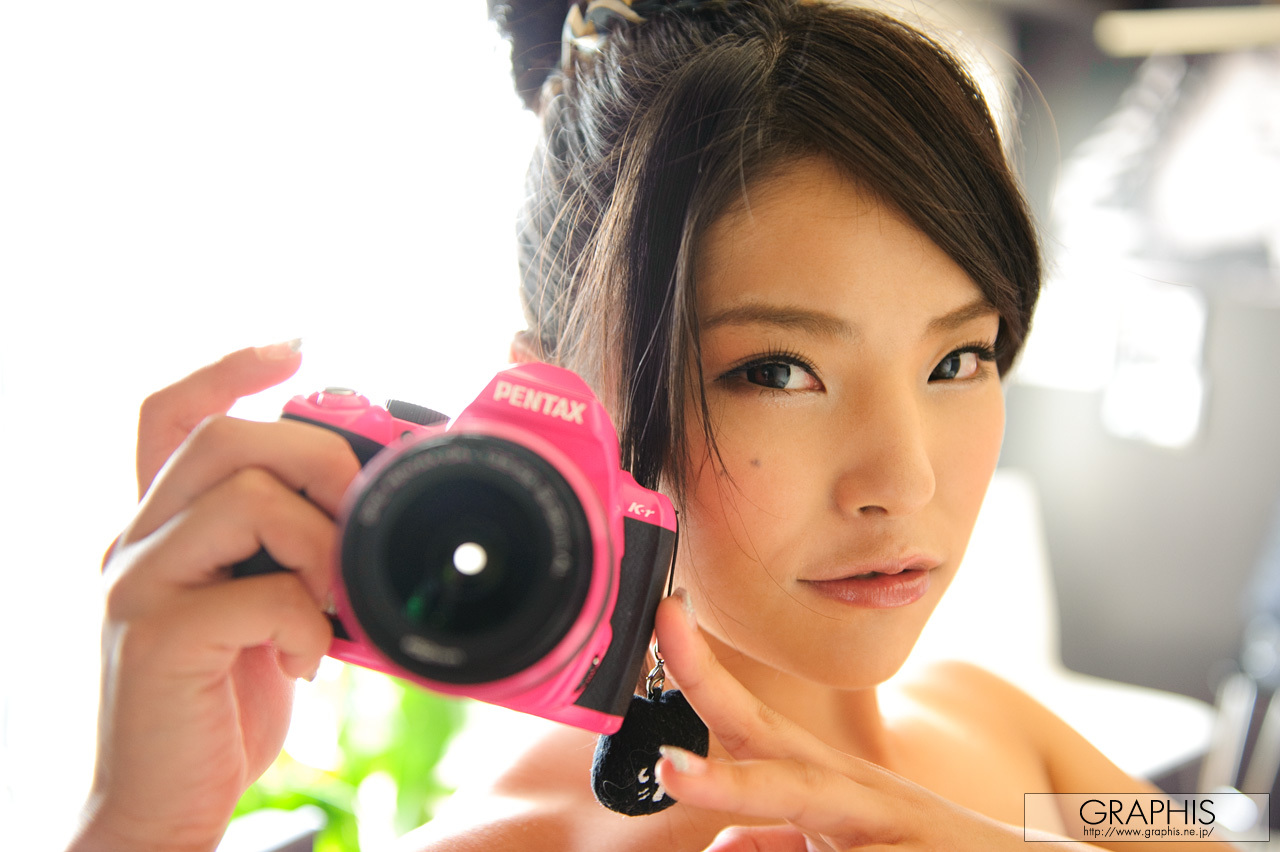 woman Cameras asians HD Wallpaper