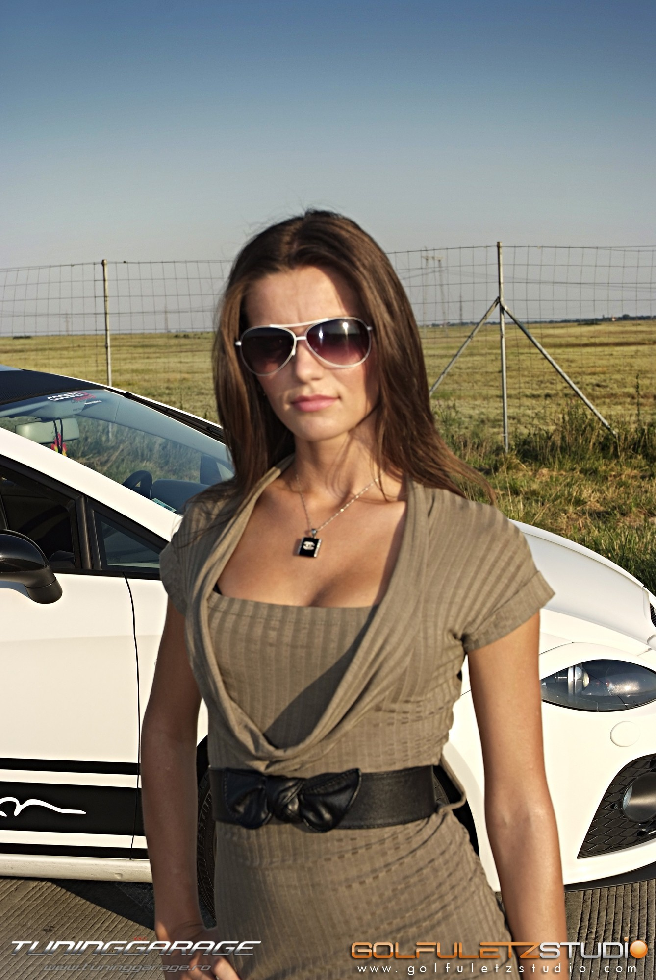 woman cars Seat Leon HD Wallpaper