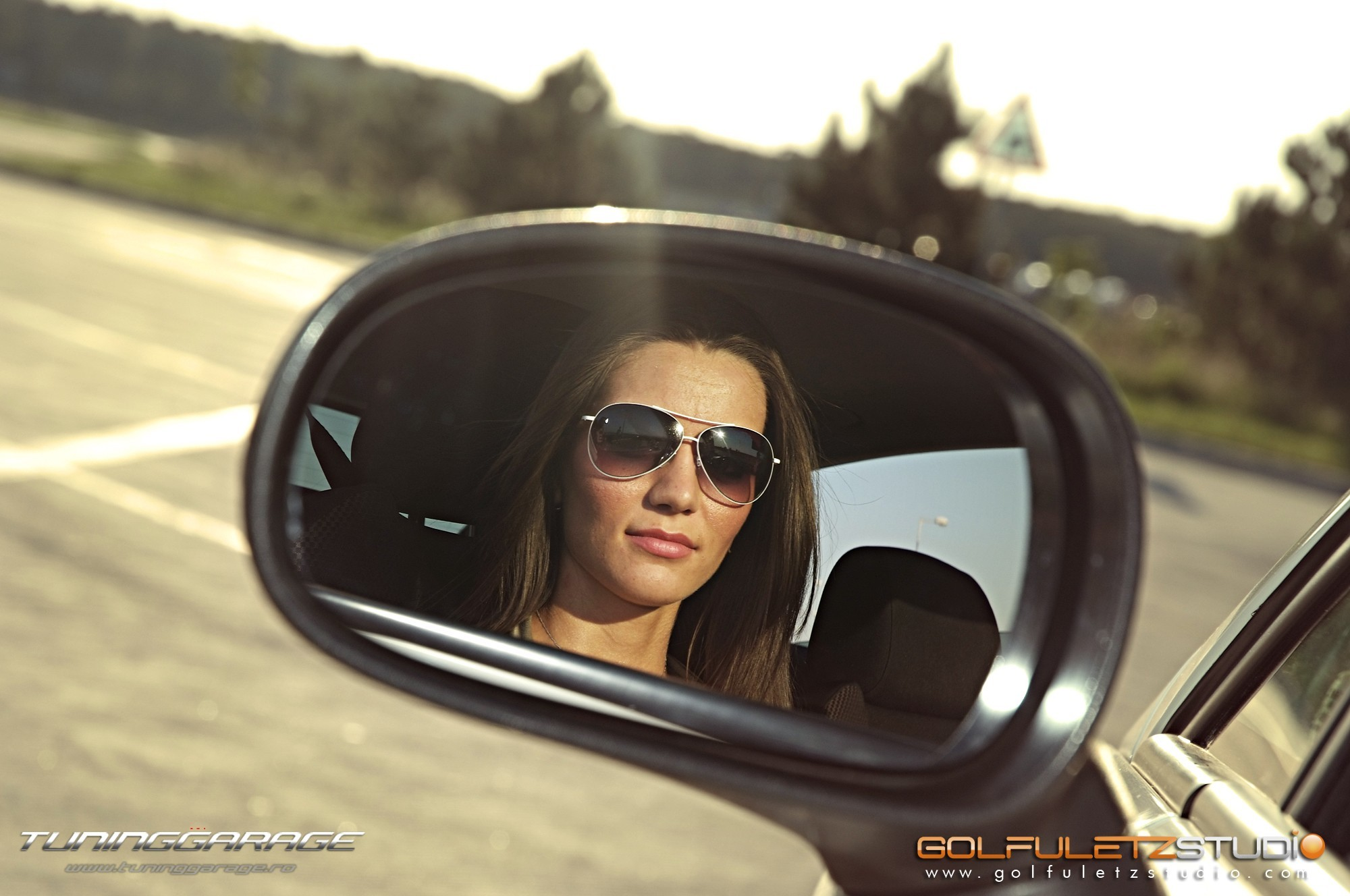 woman cars sunglasses Seat HD Wallpaper