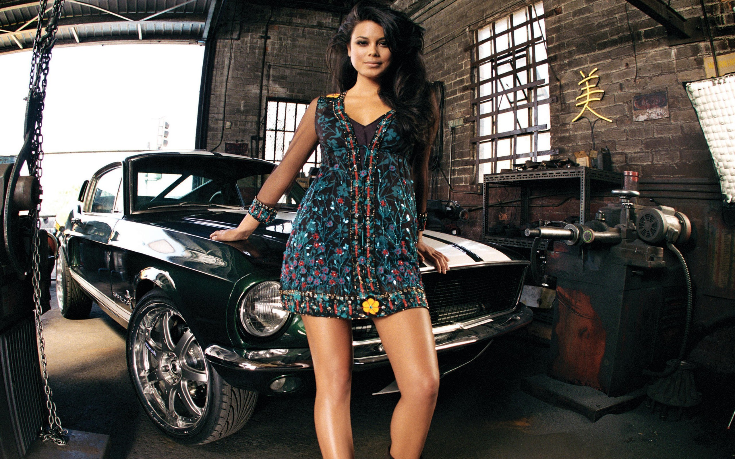 woman cars vehicles nathalie kelley HD Wallpaper