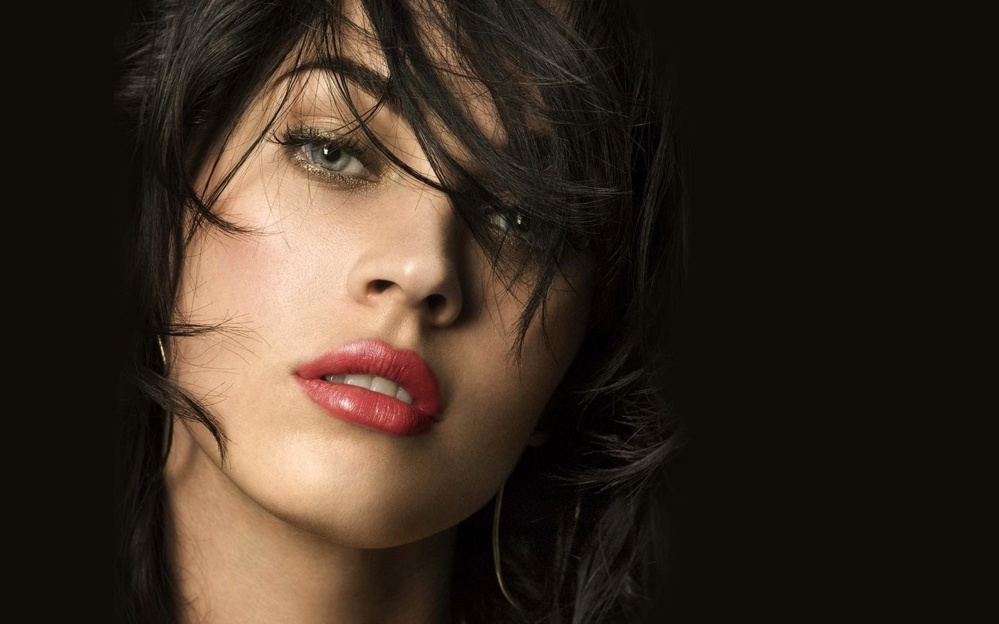 woman Celebrity Megan Fox Actress brunettes HD Wallpaper