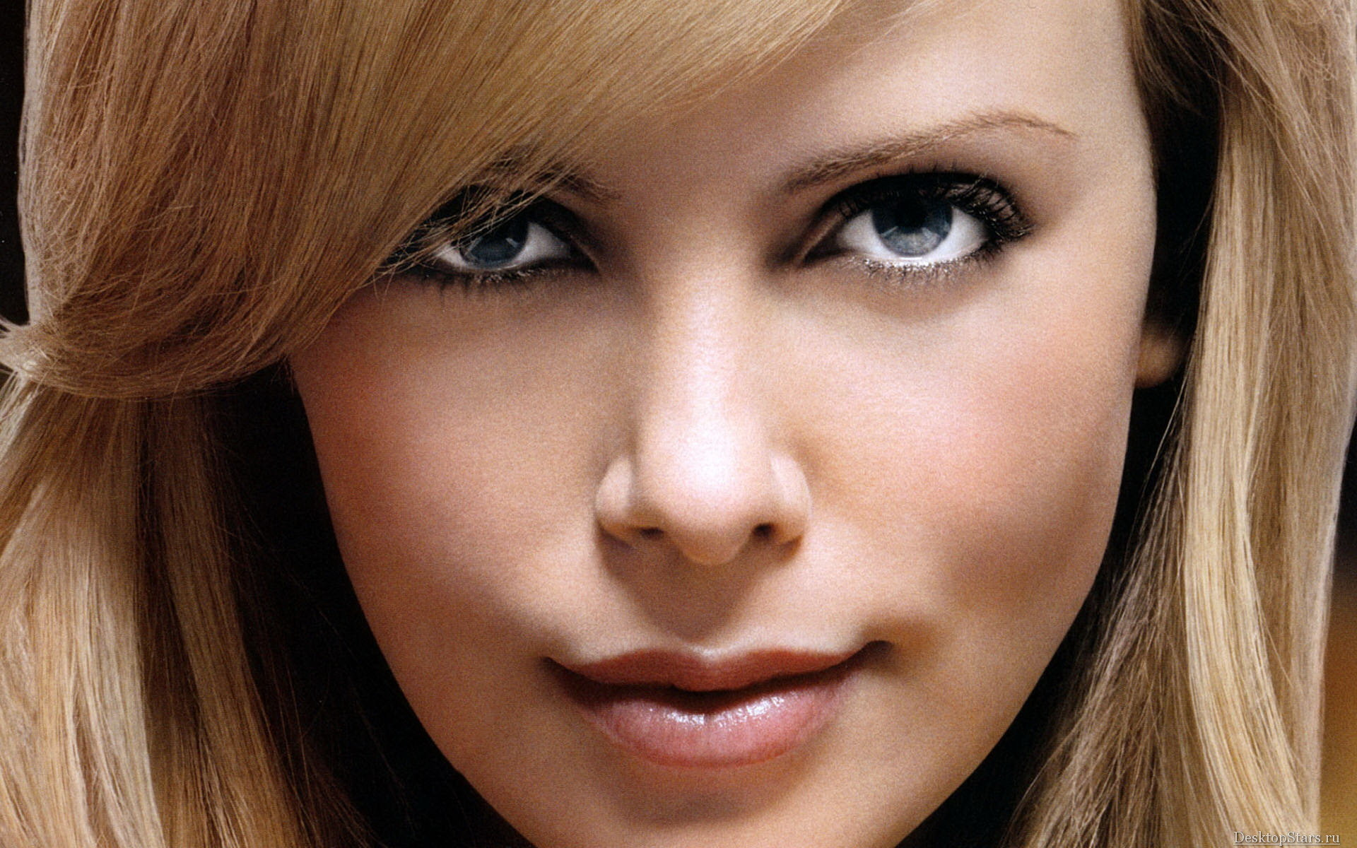 woman charlize theron faces