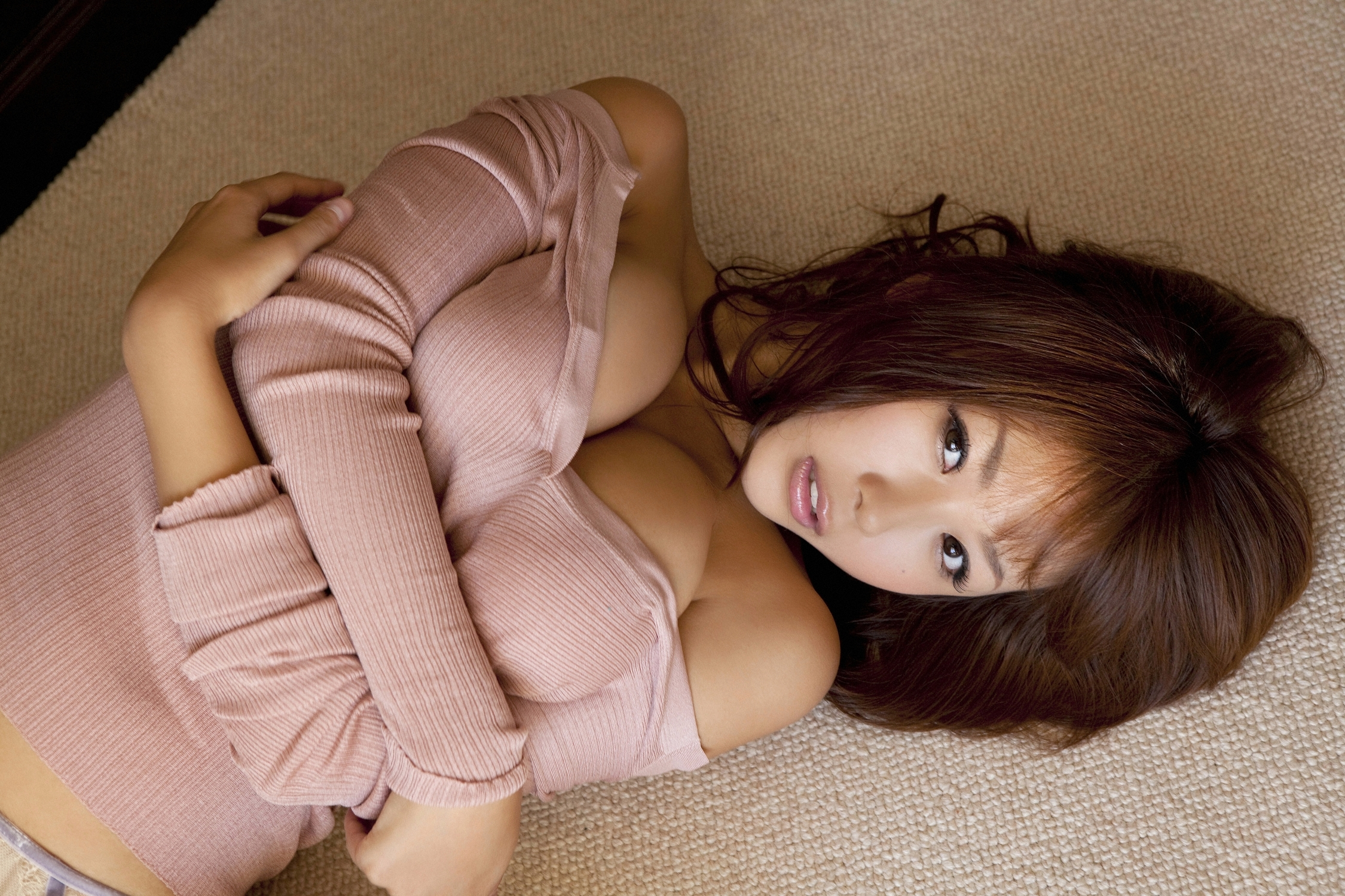 woman cleavage asians Mai HD Wallpaper