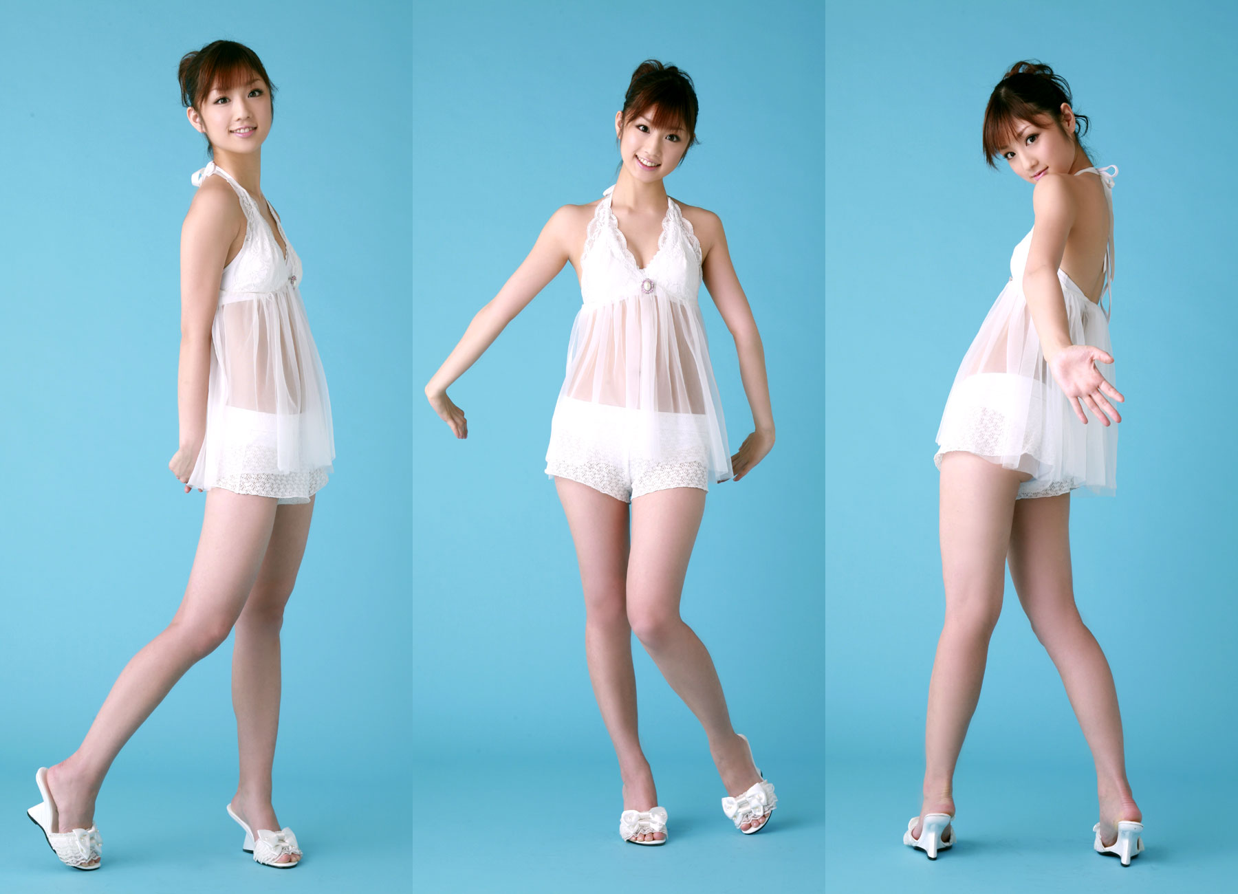 woman dress white asians HD Wallpaper