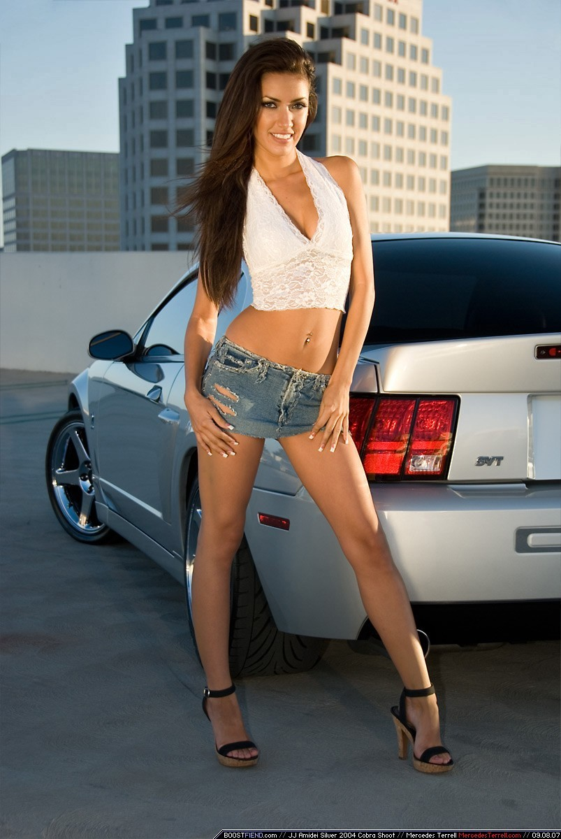 woman Ford Mercedes Terrell