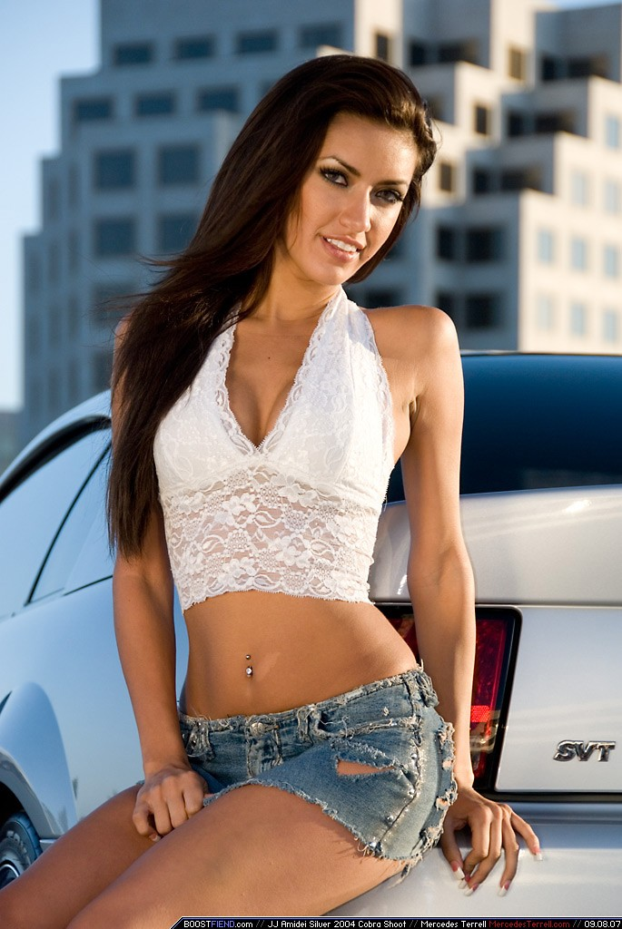 woman Ford Mercedes Terrell HD Wallpaper