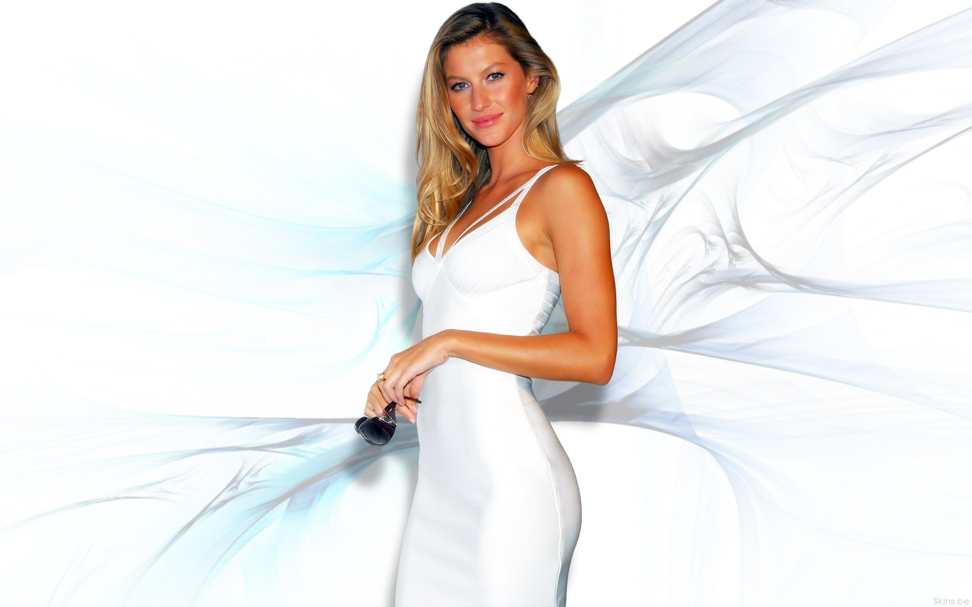 woman Gisele Bundchen supermodels HD Wallpaper