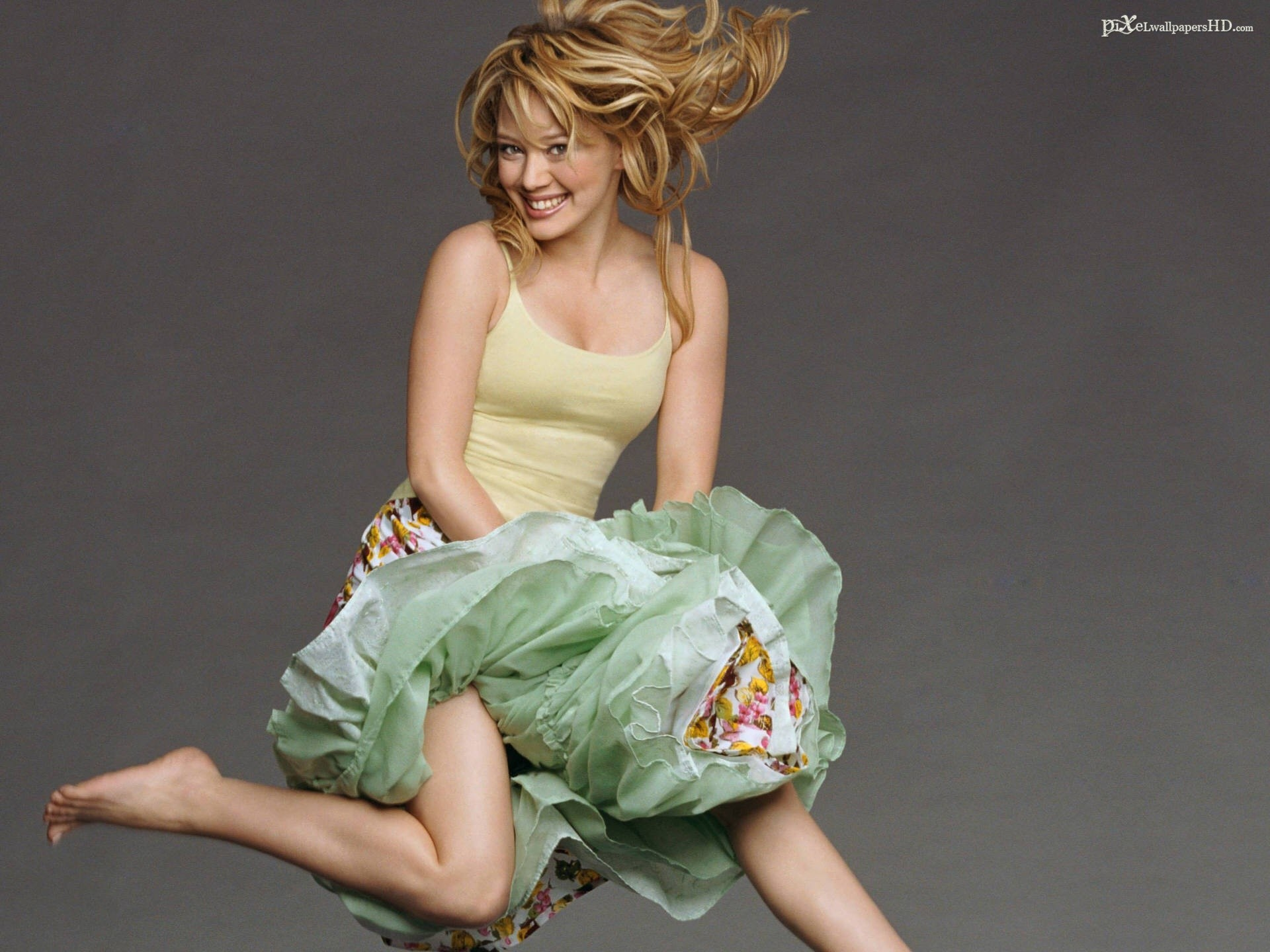 woman Hilary Duff HD Wallpaper