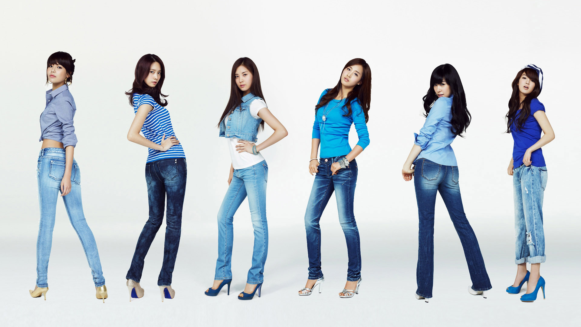 woman jeans Girls Generation