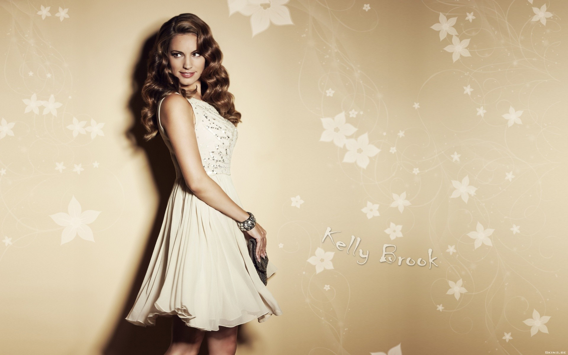 woman Kelly Brook HD Wallpaper