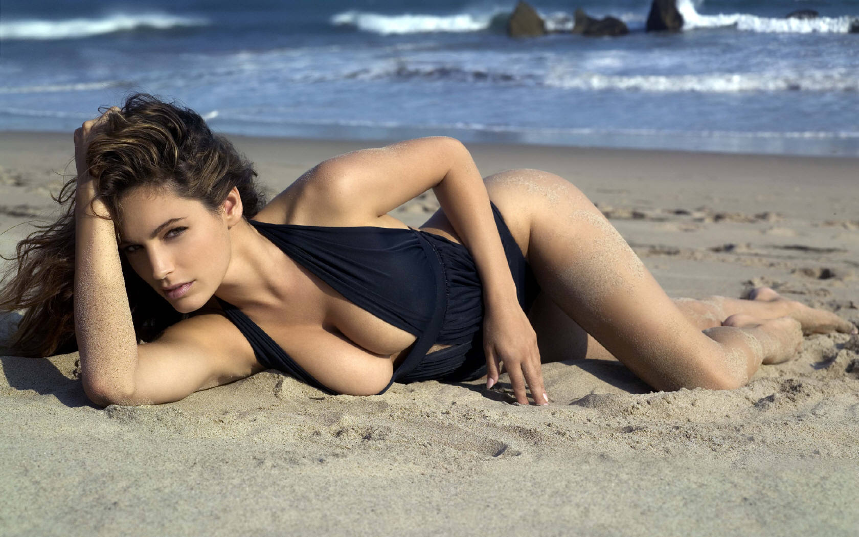 Women Beach Beauty Sexy Woman Girl Hd Wallpaper Nature Amp Landscapes