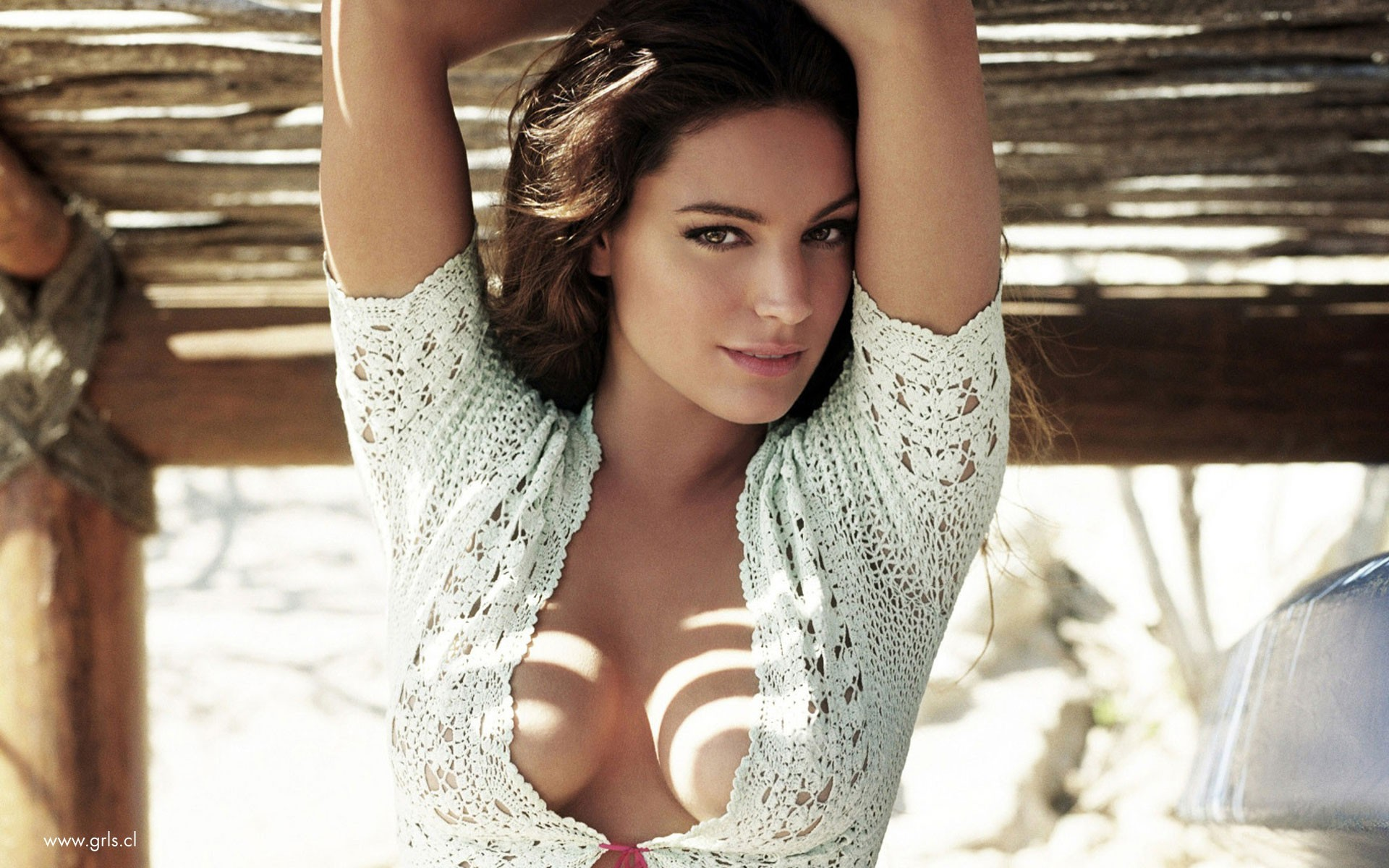 woman Kelly Brook models HD Wallpaper