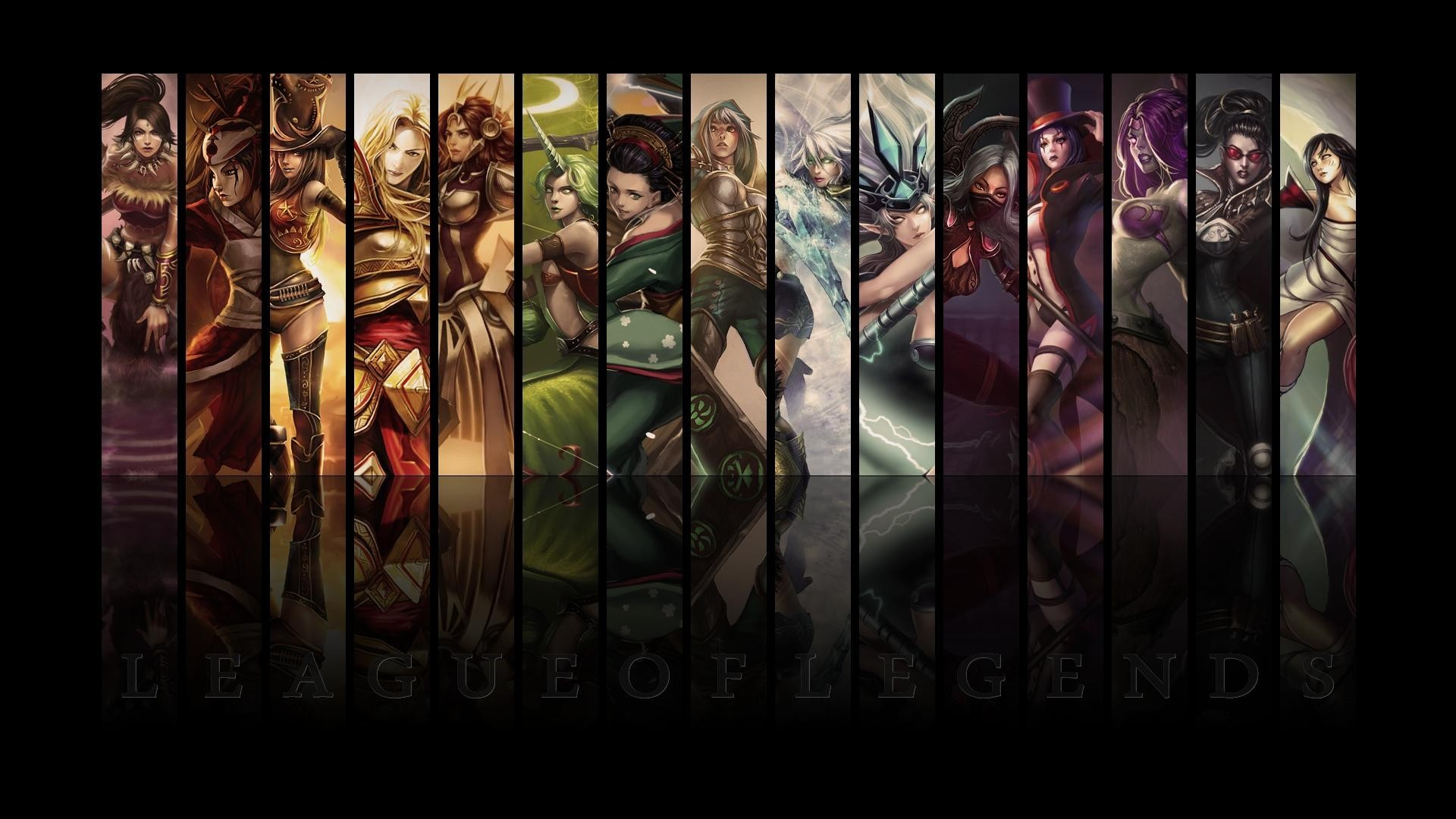 woman League of Legends HD Wallpaper