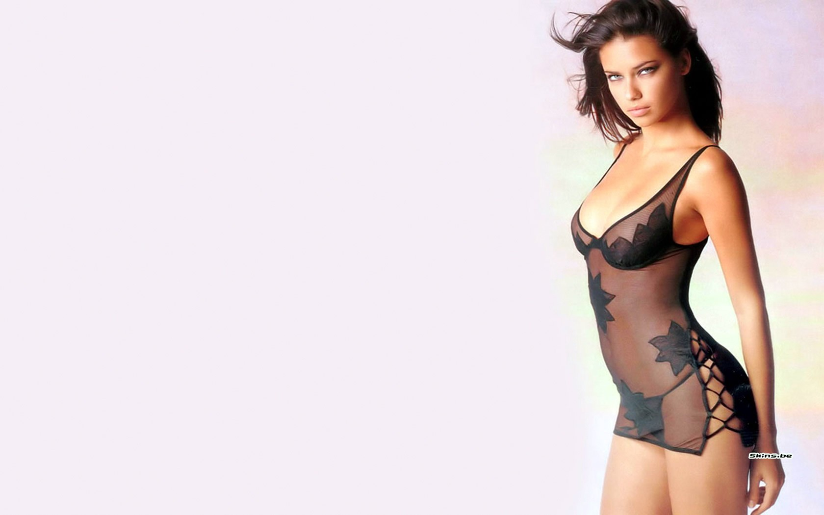woman lingerie brunettes adriana lima HD Wallpaper