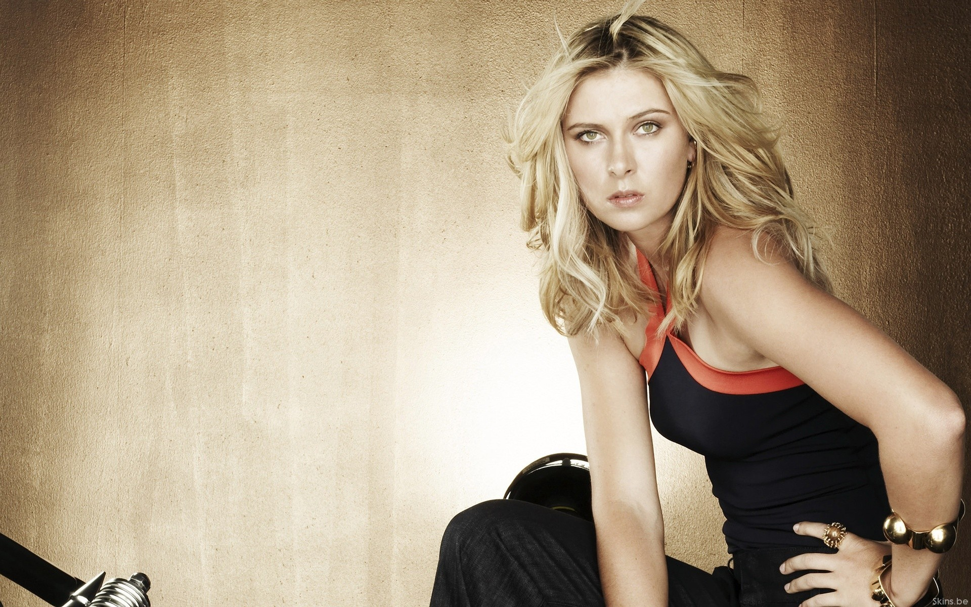 woman maria sharapova HD Wallpaper