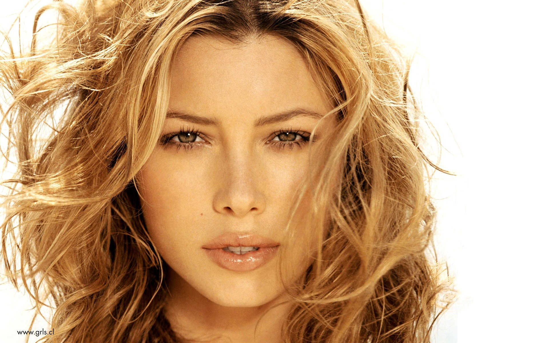 woman models Jessica Biel HD Wallpaper