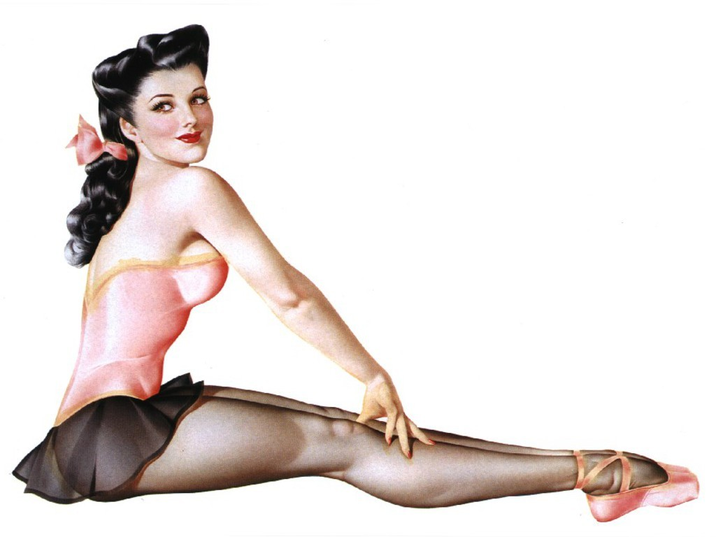 woman pinups ballet ballerina HD Wallpaper