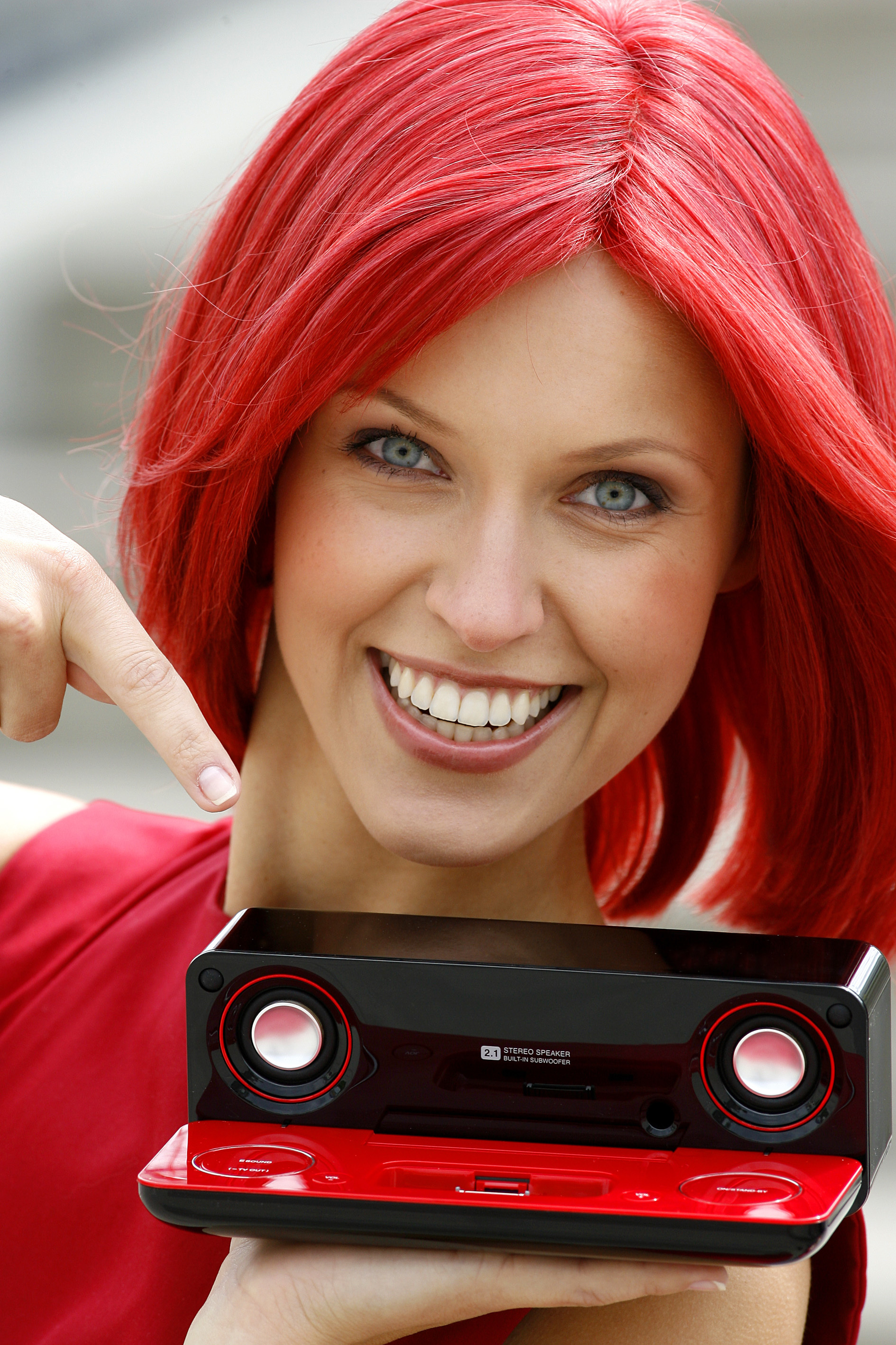 woman red redheads Radio HD Wallpaper