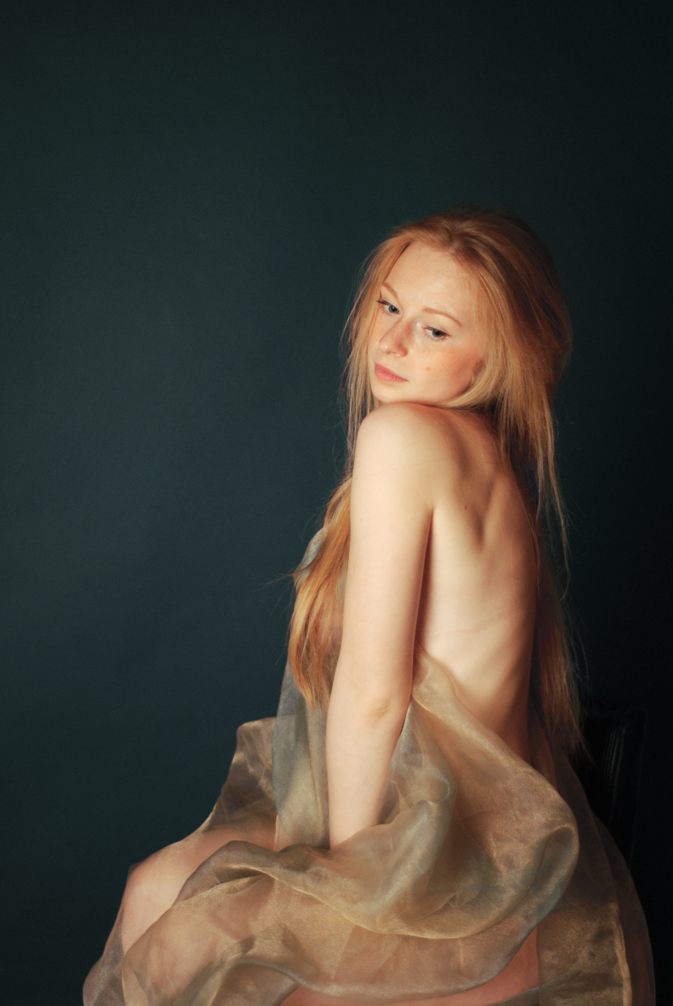 woman redheads long hair HD Wallpaper