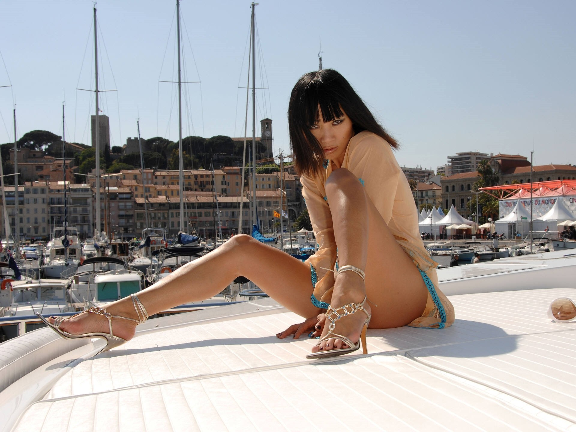 woman ships bai ling HD Wallpaper