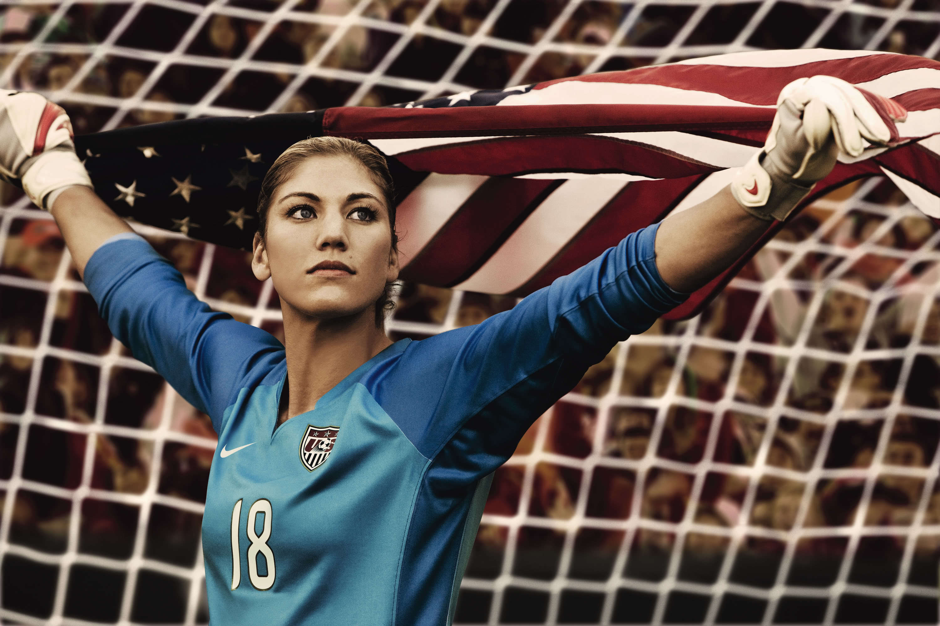 woman soccer jersey American HD Wallpaper