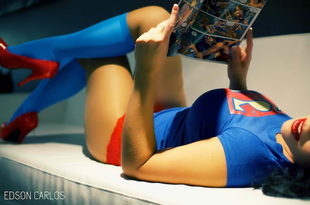 woman superman geek supergirl HD Wallpaper