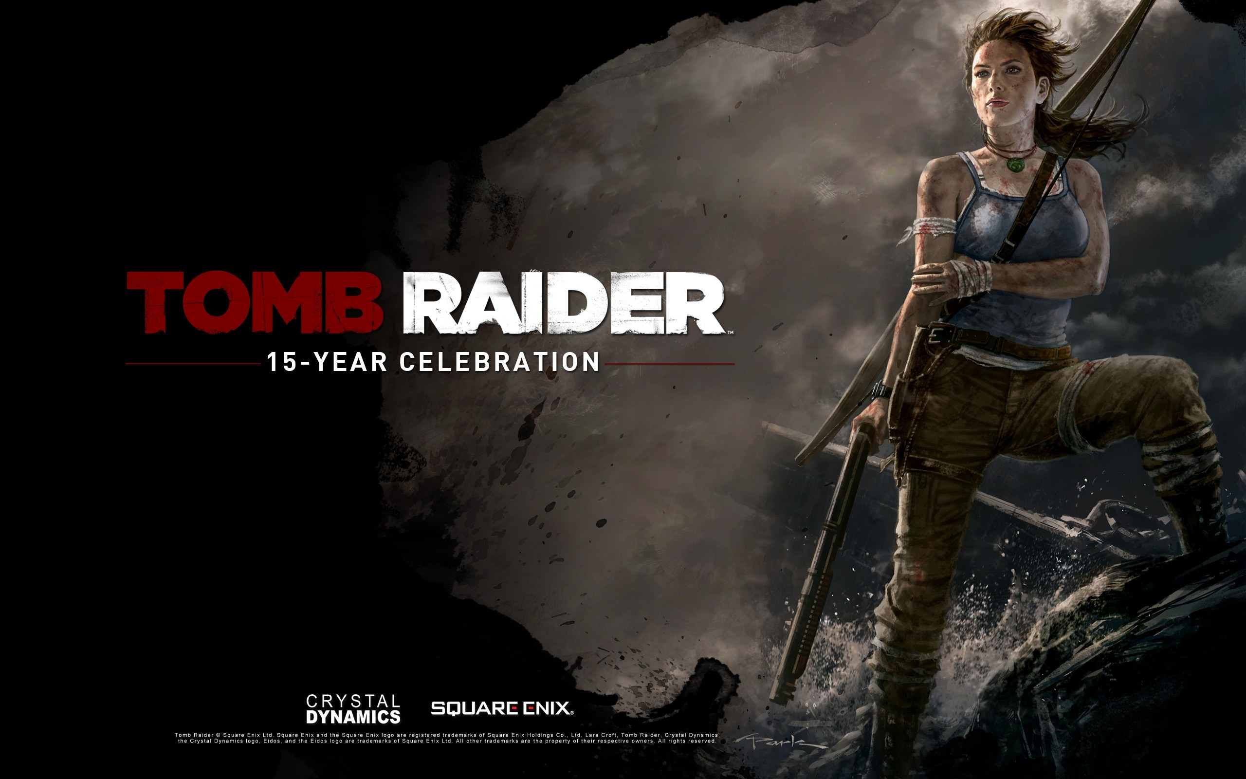 woman tomb raider lara croft artwork HD Wallpaper