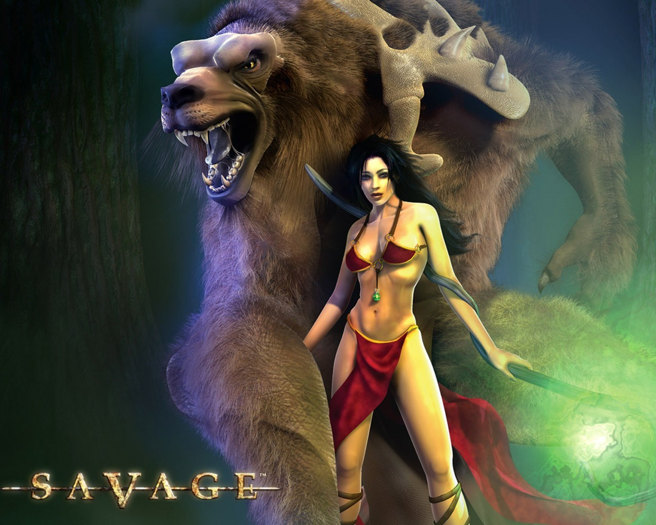 woman video games 3d HD Wallpaper