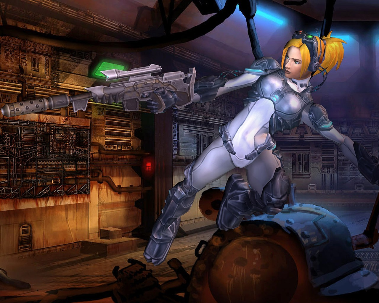 woman video games starcraft HD Wallpaper