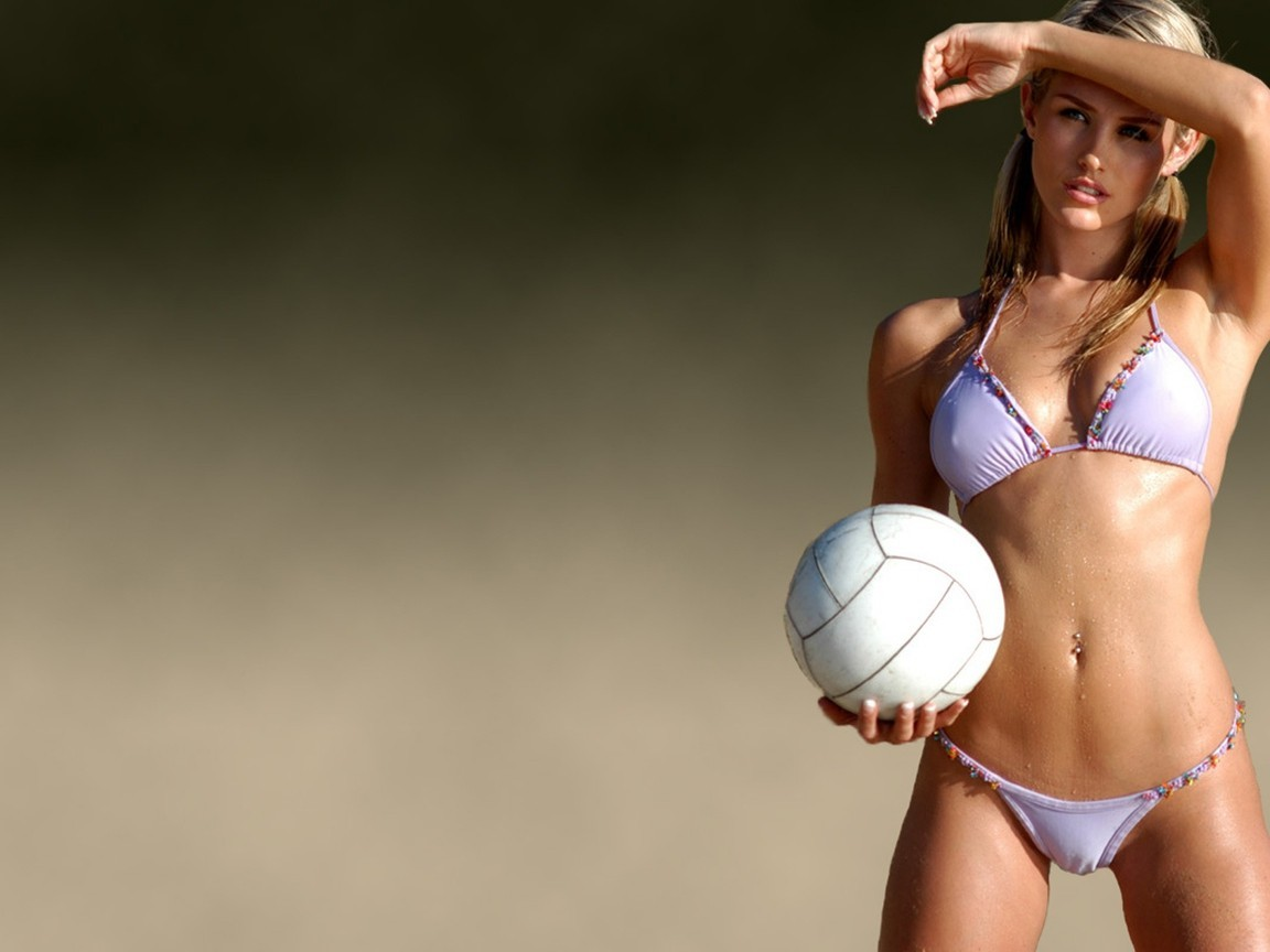 woman volleyball Nicky Whelan HD Wallpaper