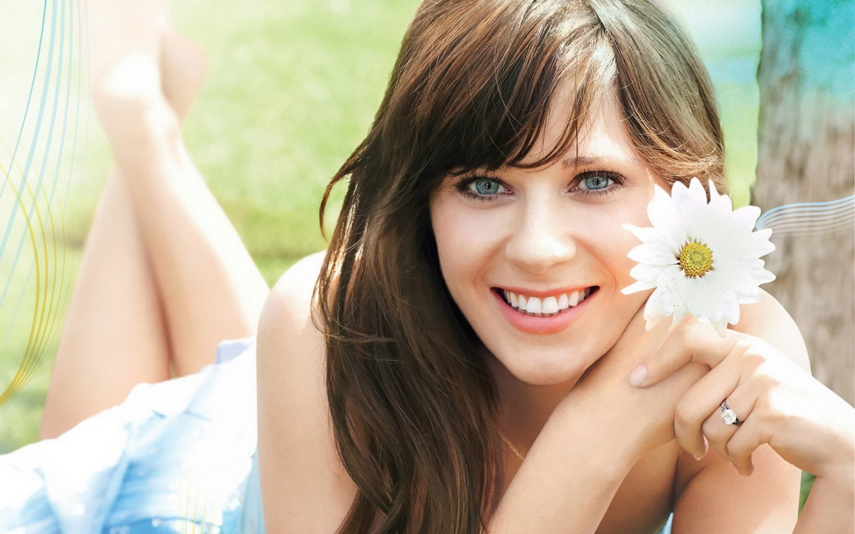 woman zooey deschanel HD Wallpaper