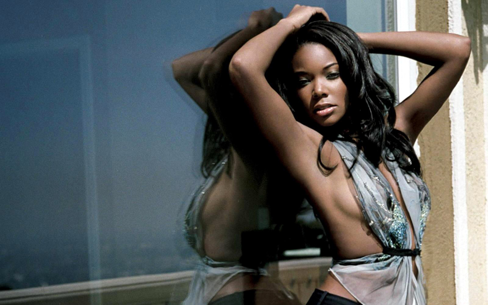 Women black People gabrielle HD Wallpaper