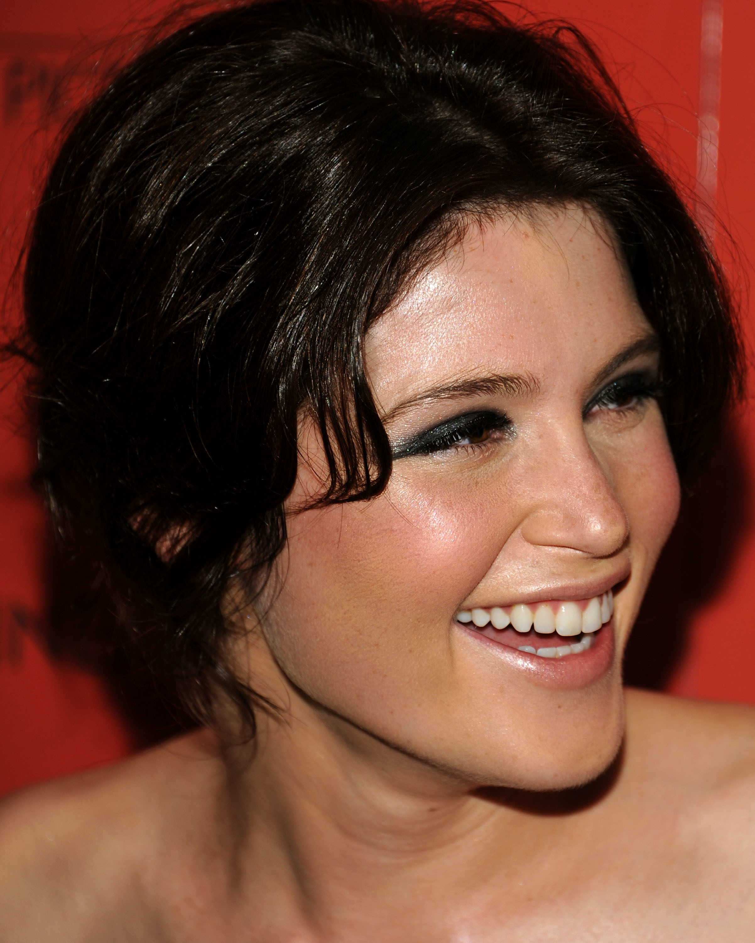 Women Gemma Arterton faces HD Wallpaper