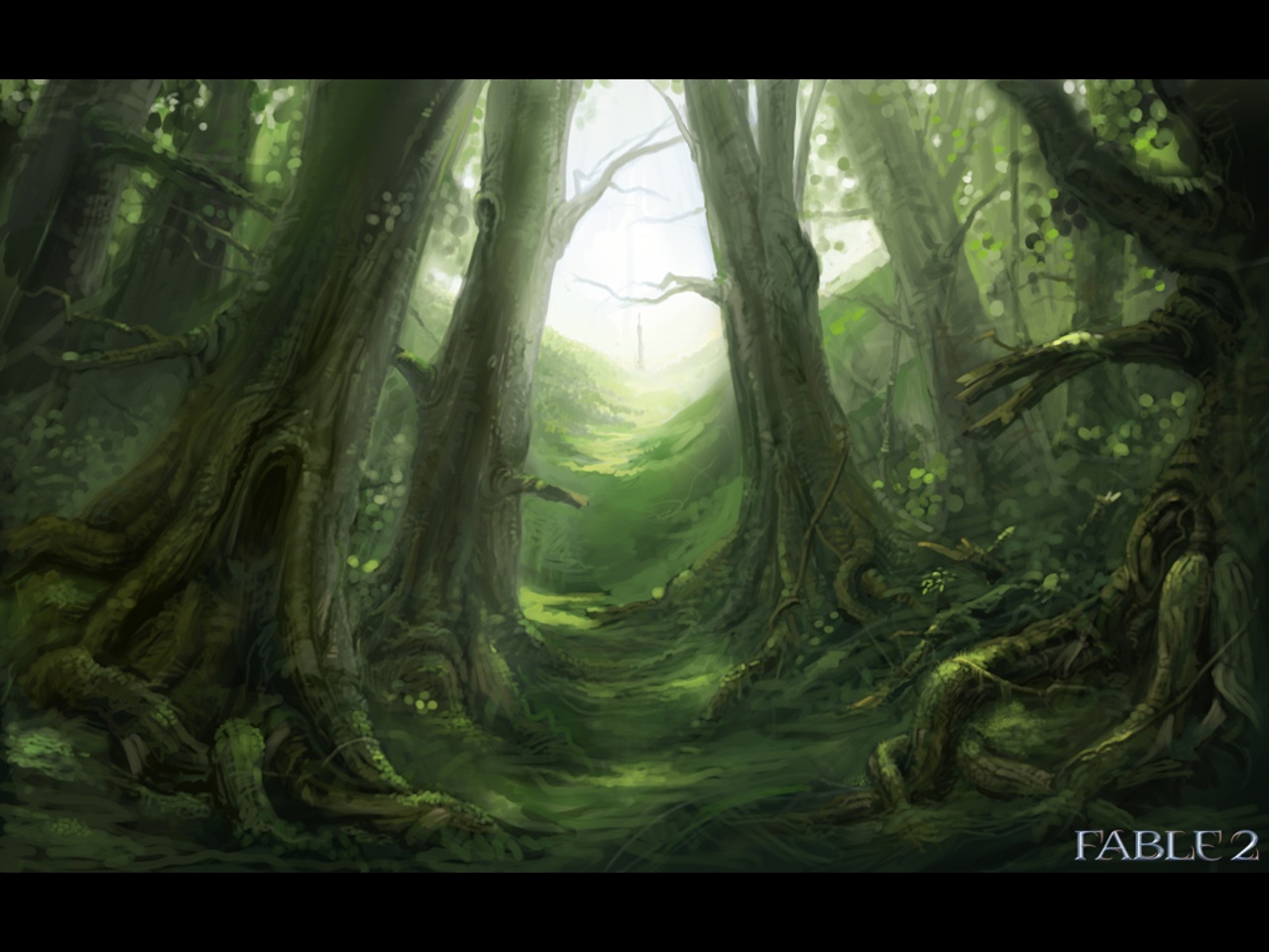 woods fable video Games HD Wallpaper