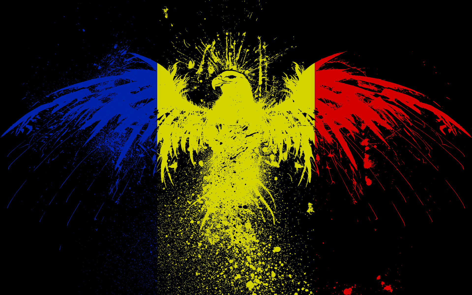 World Eagles Flags romania HD Wallpaper