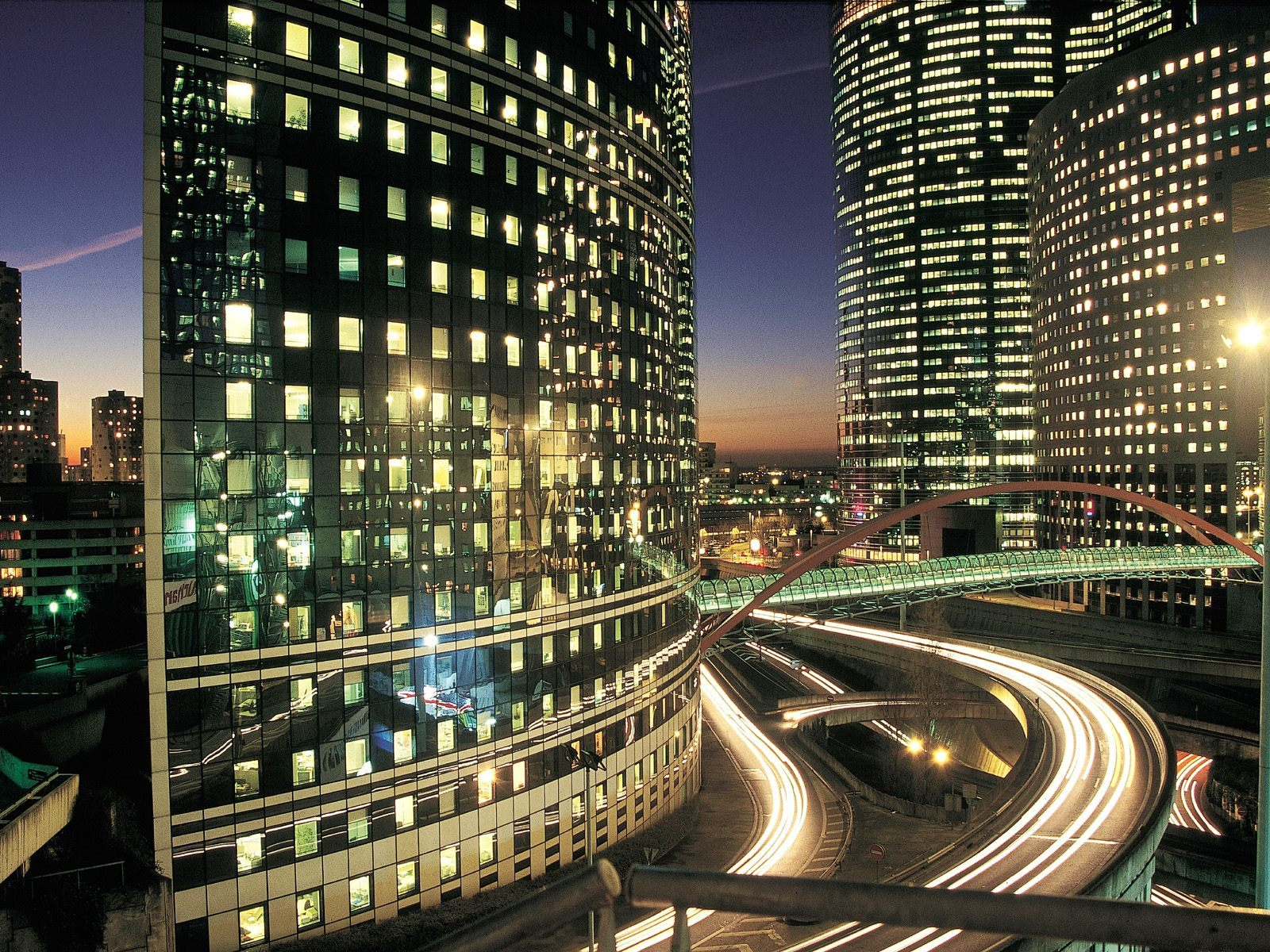 World la defense Business HD Wallpaper