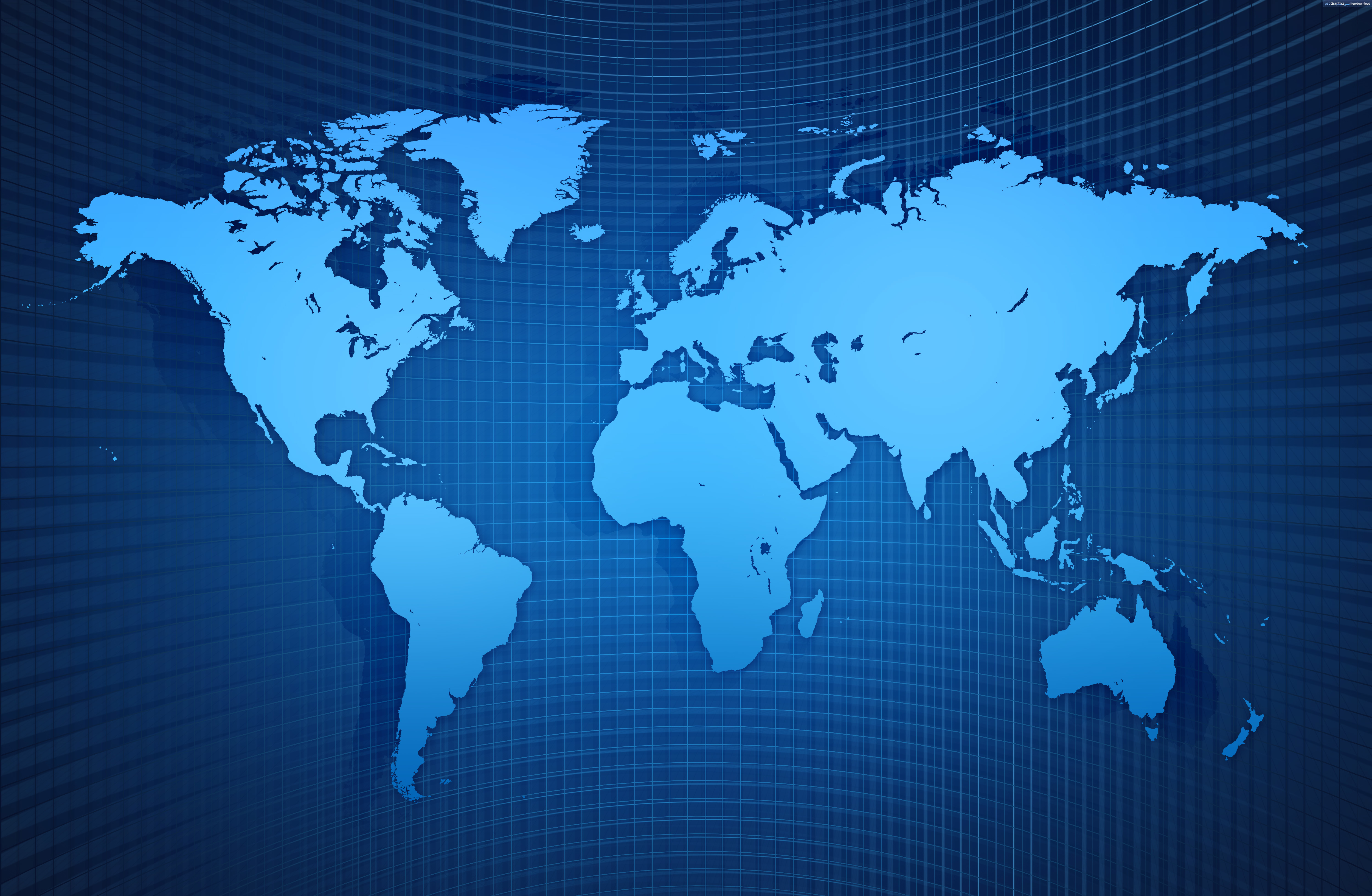 World Map background check