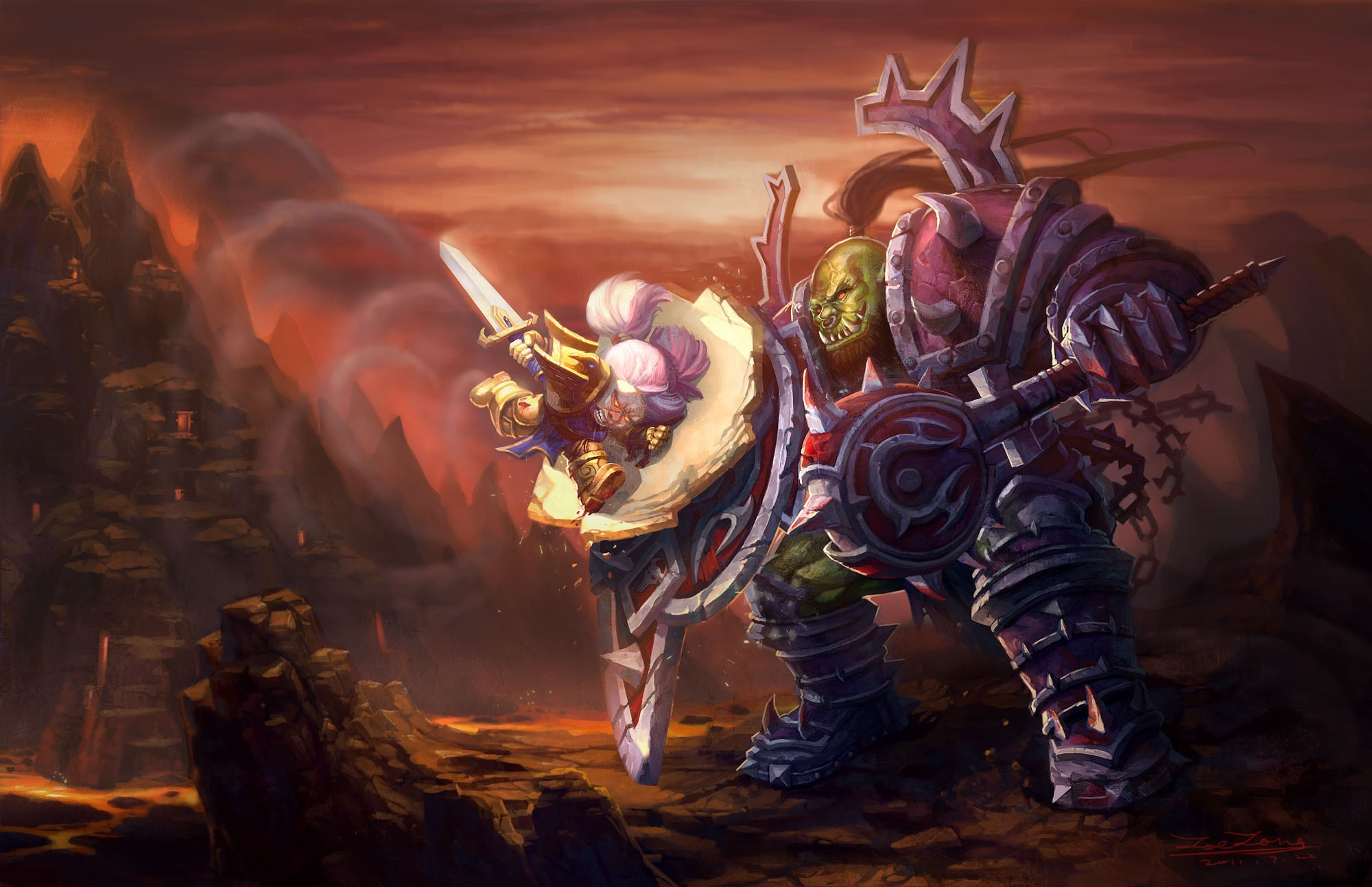 world of warcraft funny HD Wallpaper