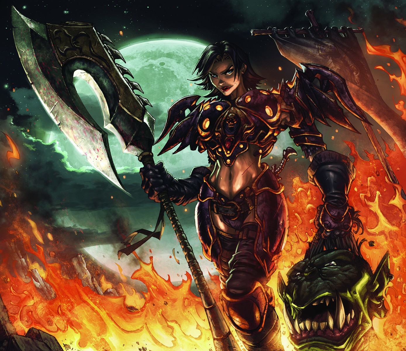 world of warcraft human HD Wallpaper
