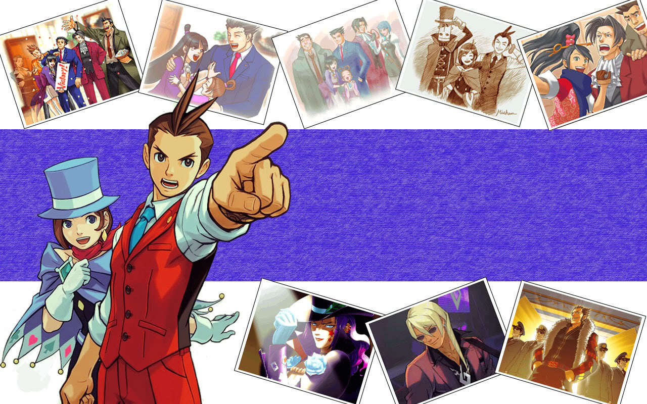 wright ace attorney Anime HD Wallpaper