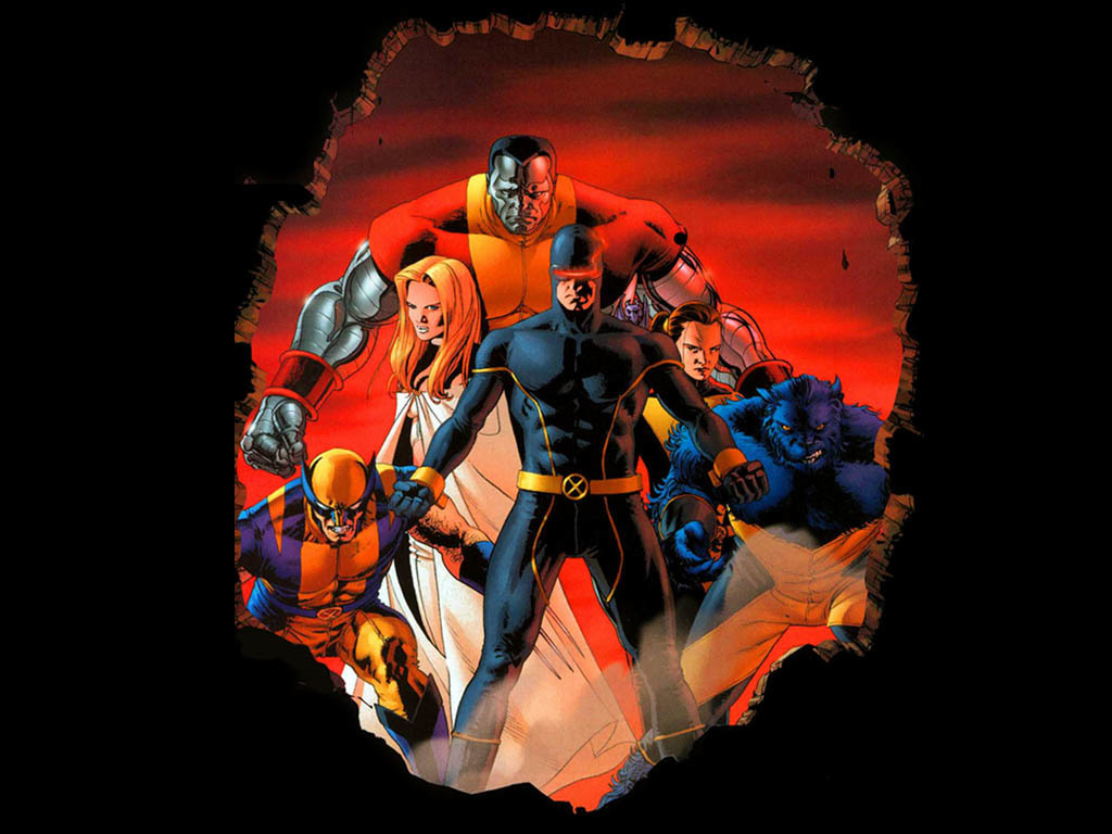 X-Men astonishing cartoon HD Wallpaper