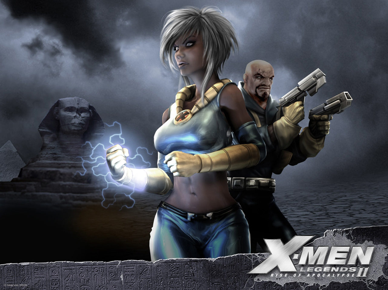X-Men cartoon HD Wallpaper