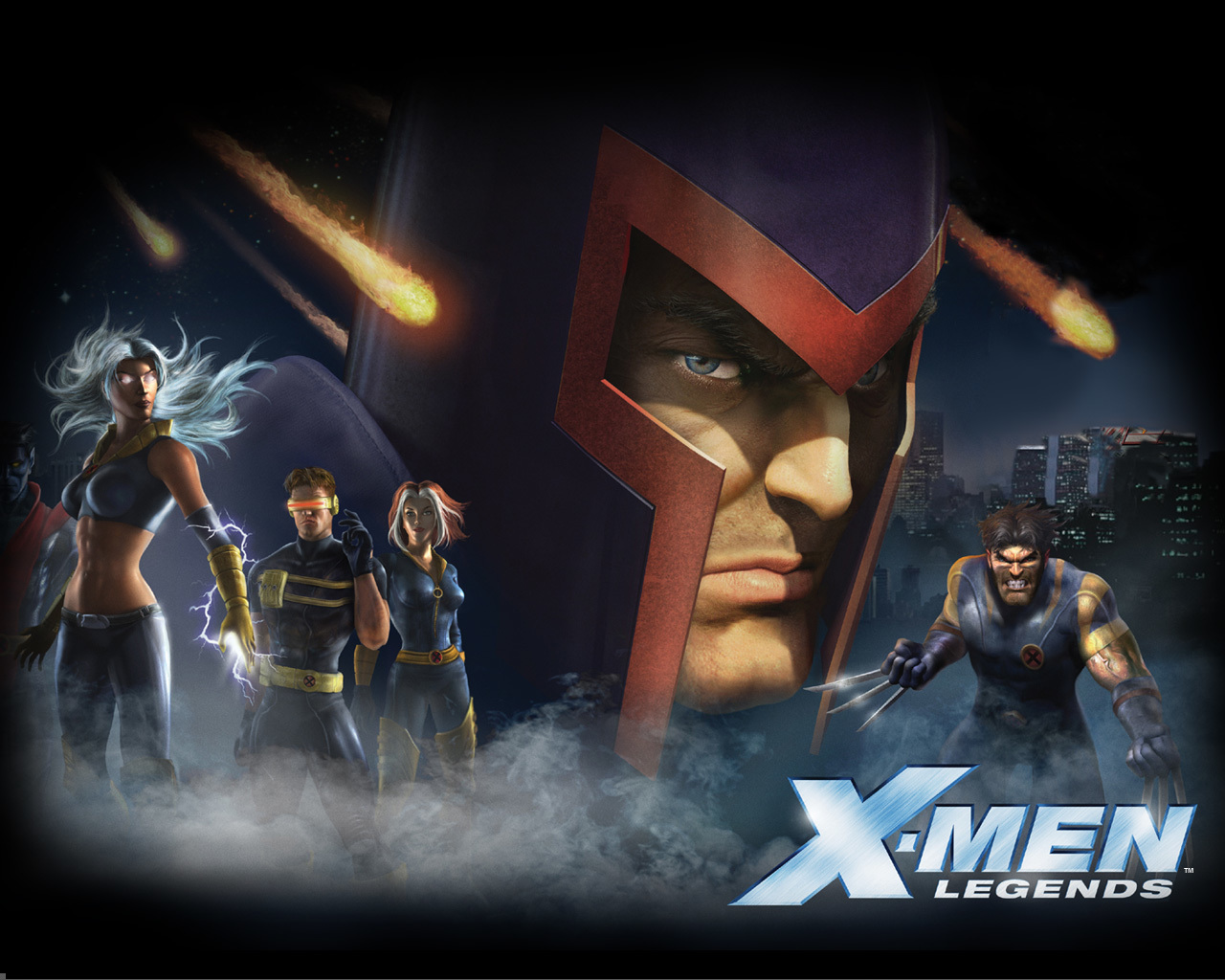 X-Men Legends video Games HD Wallpaper