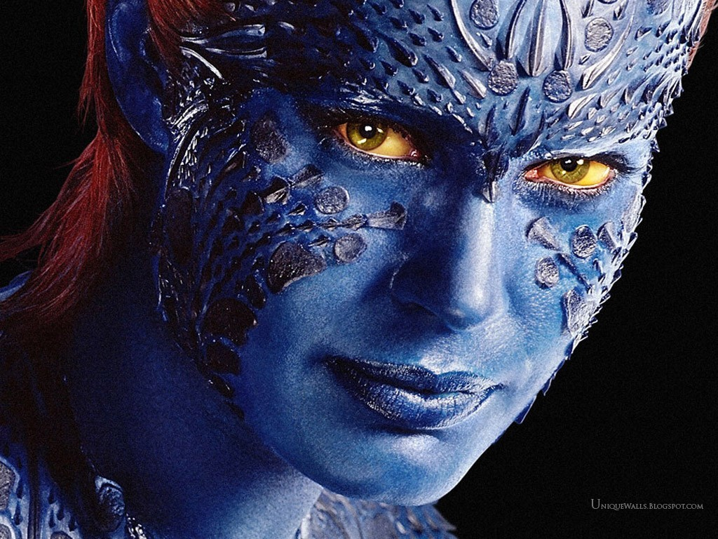 X-Men mystique Rebecca Romijn HD Wallpaper